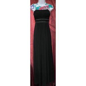 BCBG Maxazria Black Strapless Gown